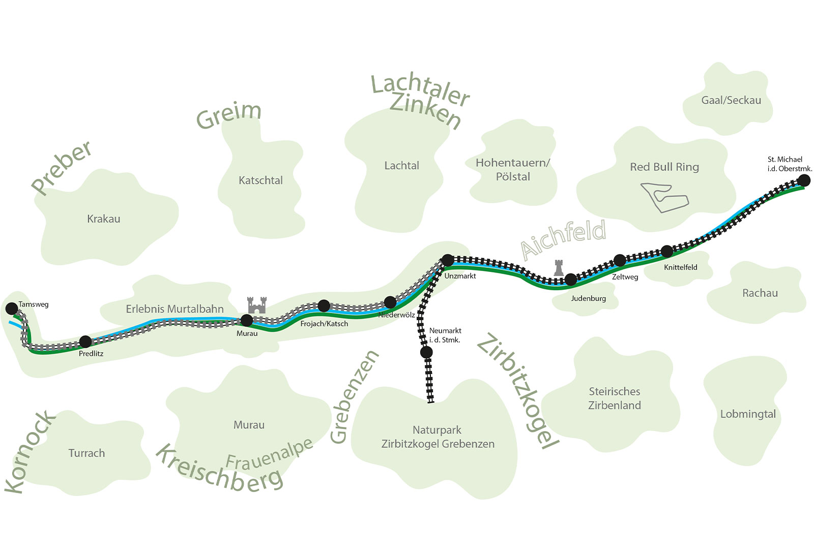 Multimodal auf Schiene durch die westliche Obersteiermark 2