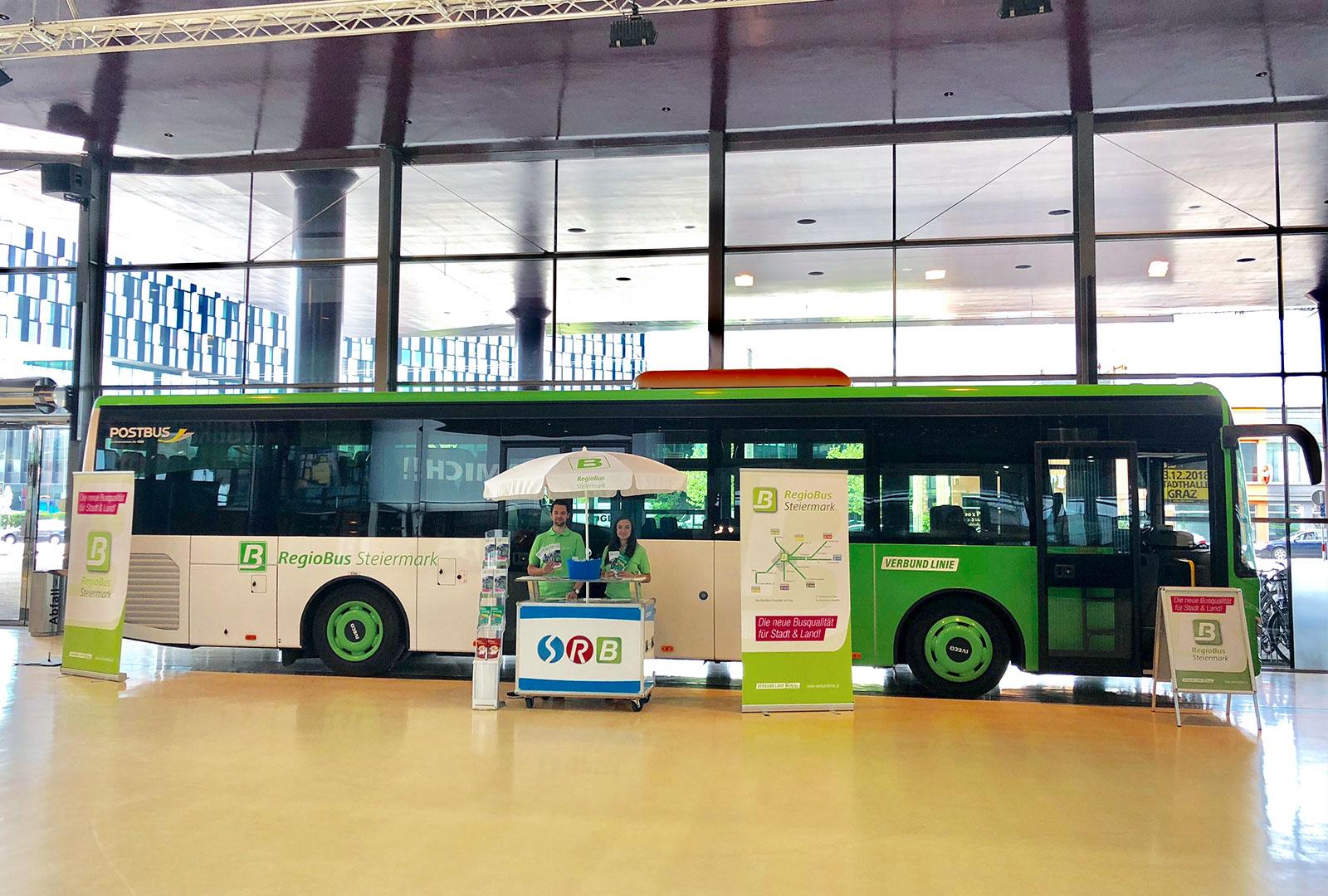 RegioBus – Messeauftritt und Präsentation 1