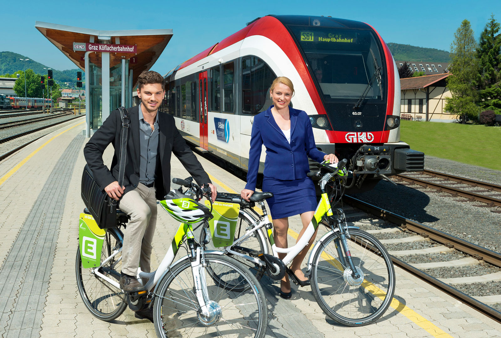 E-Bike – S-Bahn 1