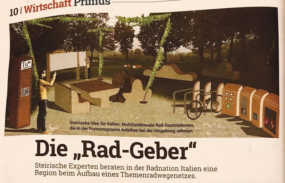 Radkonzepte, Kleine Zeitung, Juni 2017